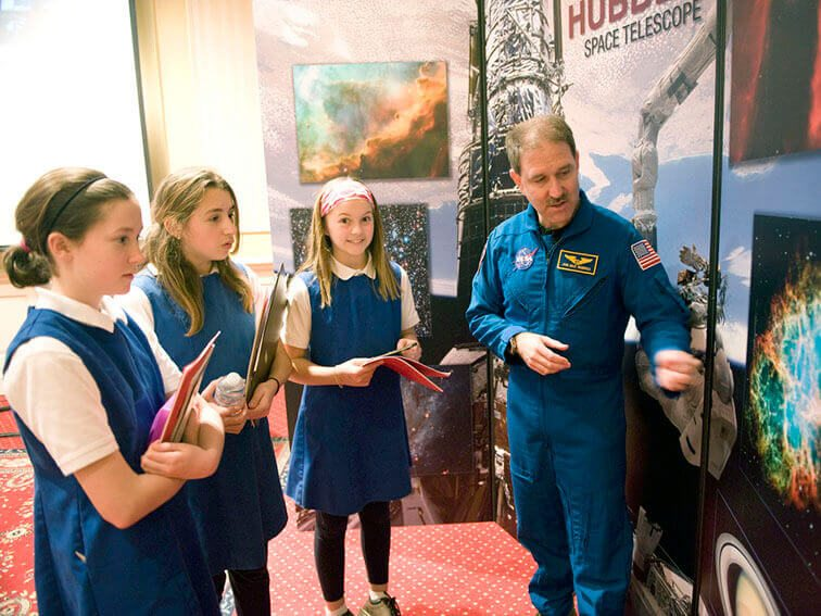 New Law Designed To Inspire Female Students To Become Astronauts