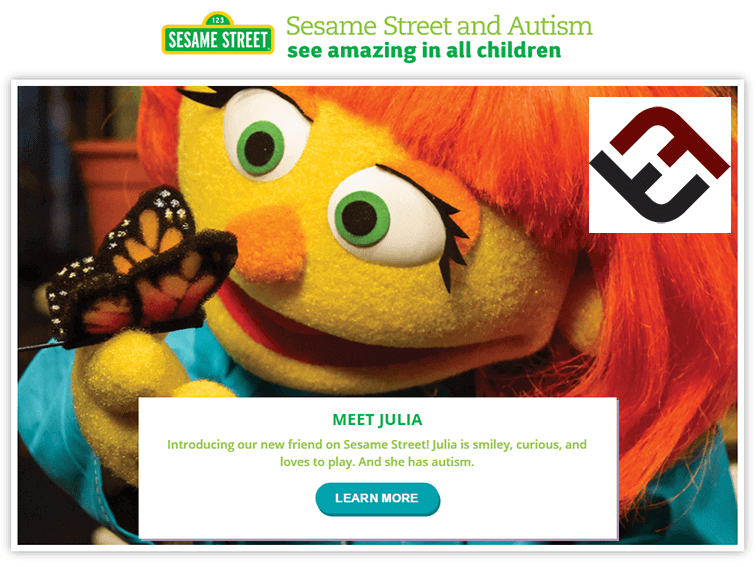 There's A New Sesame Street Character–And She Has Autism