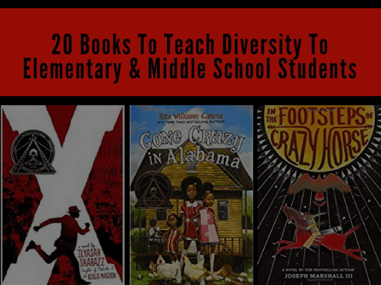 20 Books To Teach Diversity To Elementary Middle School Students
