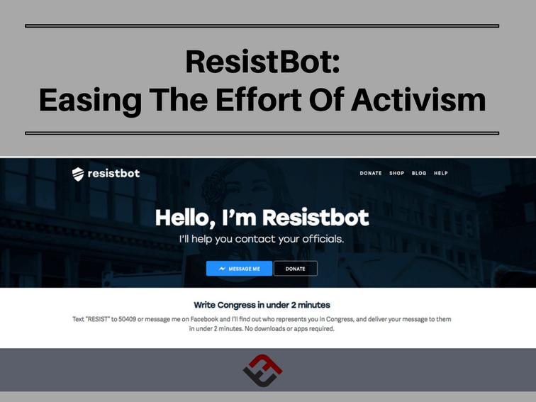 resistbot easing the effort of activism