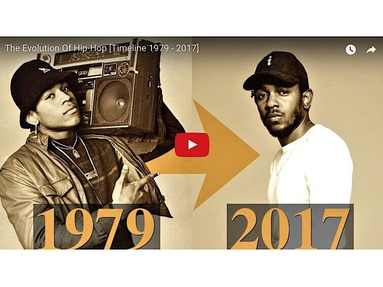 Video: A History Of Hip-Hop From 1979-2017