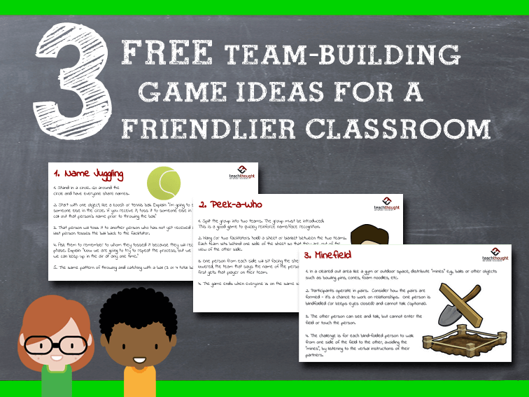 Making Friends: 10 Team-Building Games For Students -