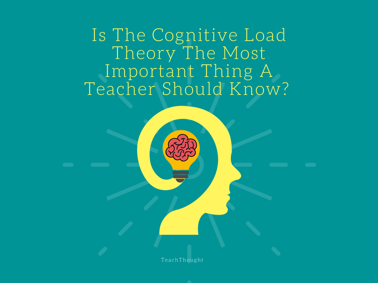 Is The Cognitive Load Theory The Most Important Thing A Teacher Should Know?