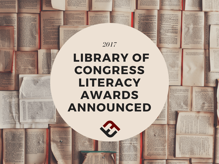 2017 Library Of Congress Literacy Awards Announced