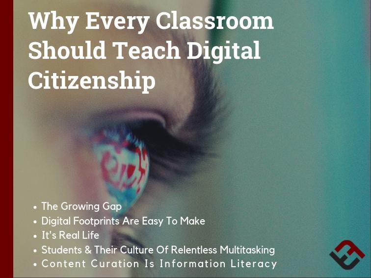 Why Every Classroom Should Teach Digital Citizenship