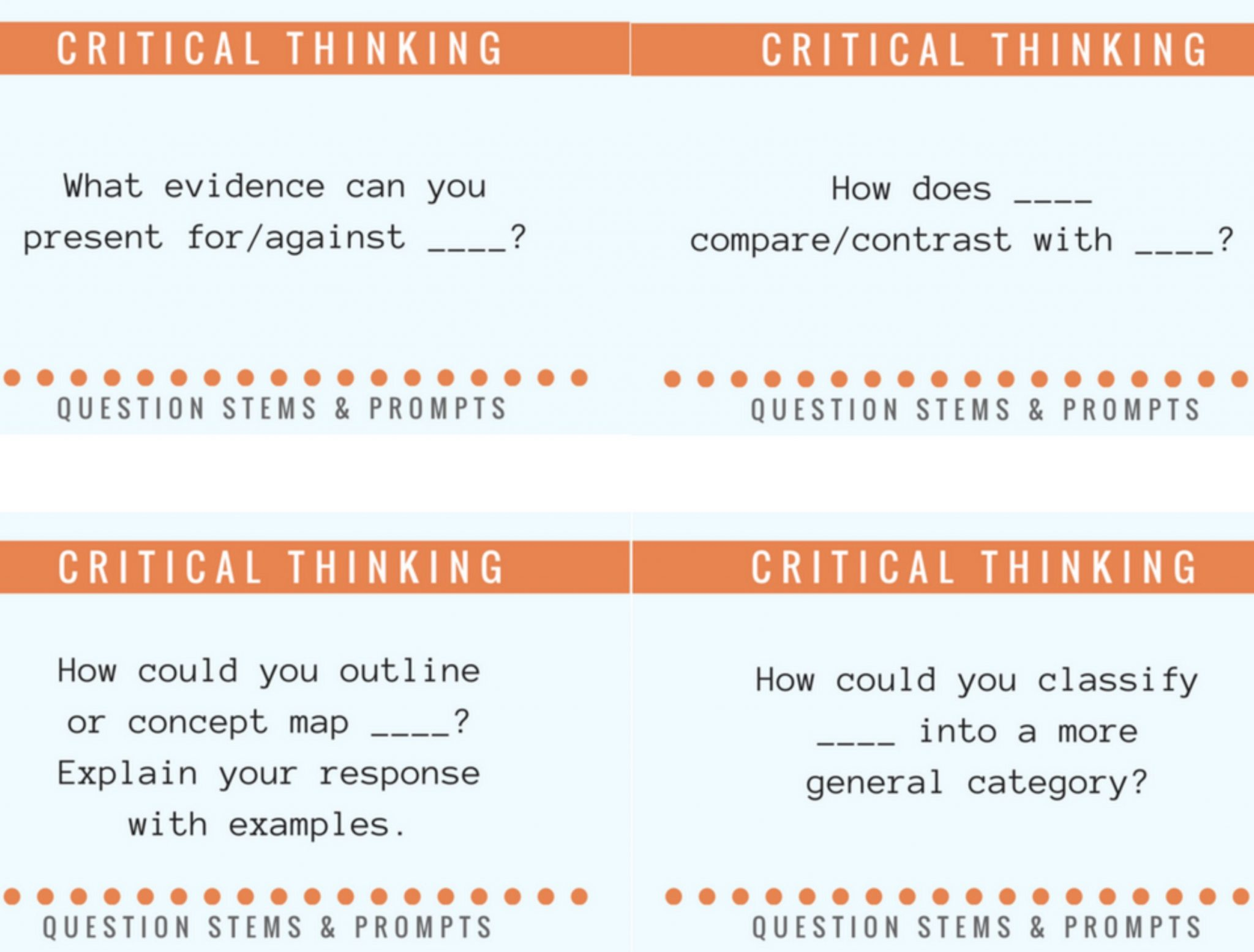 50 Questions To Help Students Think About What They Think Teachthought