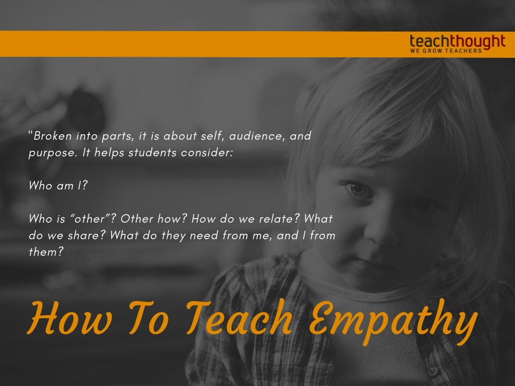how to teach empathy quote