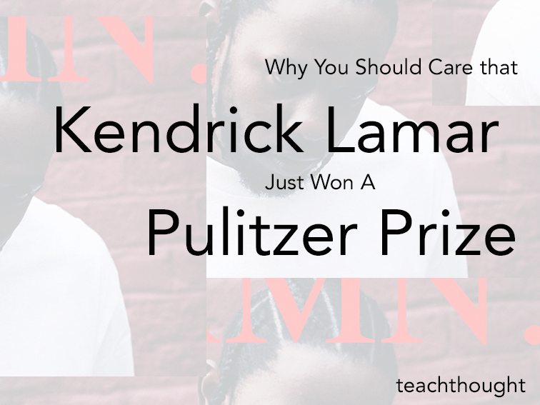 Why You Should Care That Kendrick Lamar Just Won A Pulitzer Prize