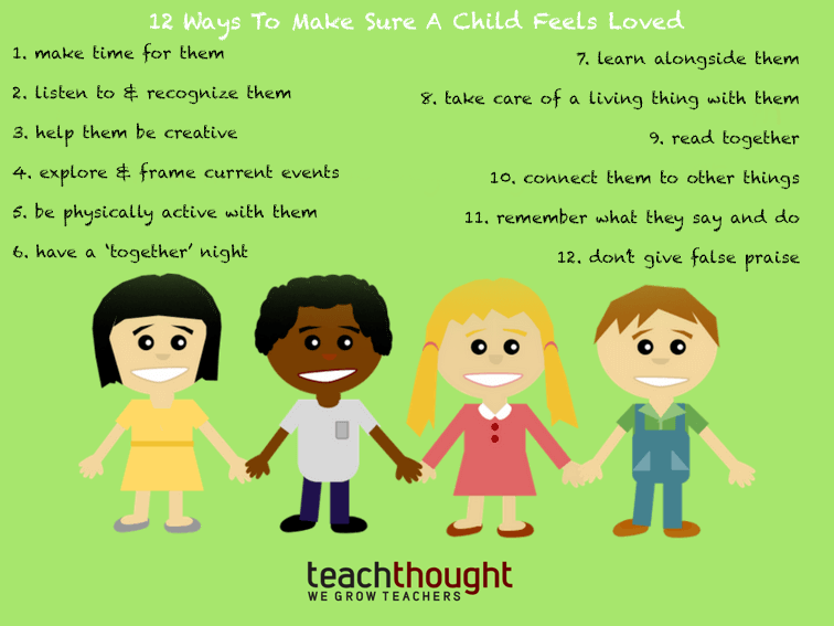 12 Ways To Make Sure A Child Feels Loved