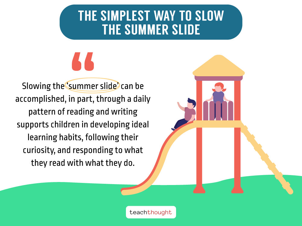 quote about how to slow summer slide