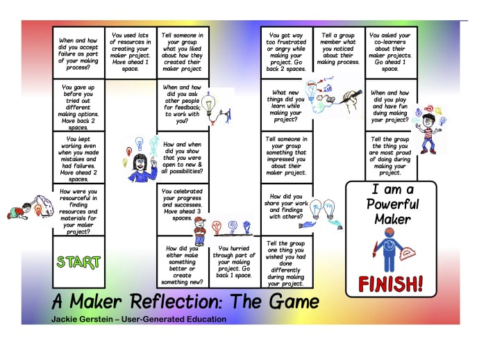 A Game To Help Students Understand The Maker Learning Process