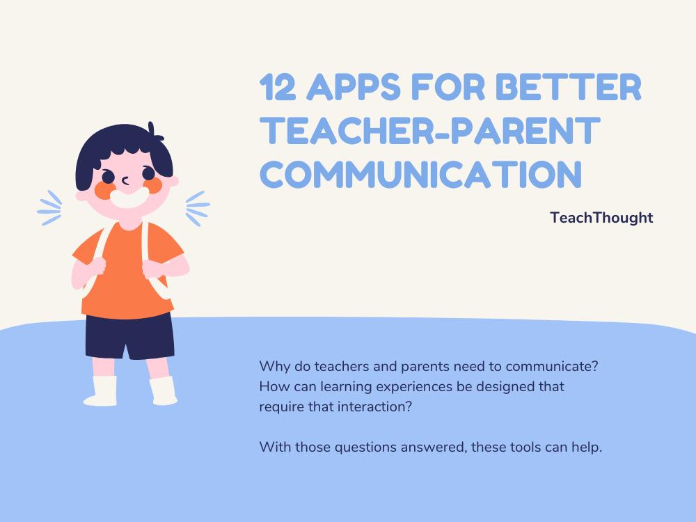Apps For Better Teacher-Parent Communication