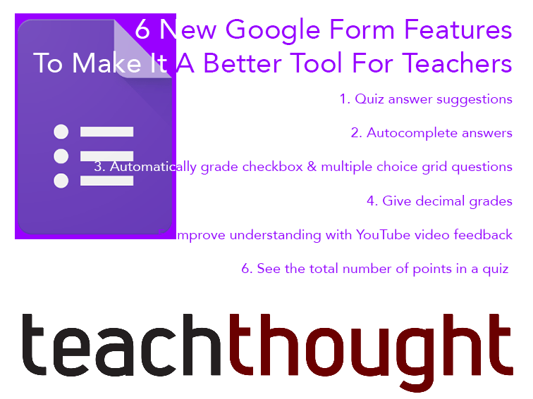 6 New Google Form Features To Make It A Better Tool For Teachers -