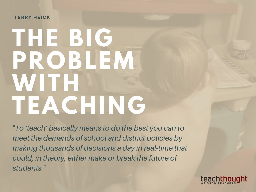 The Problem And Challenge Of Teaching