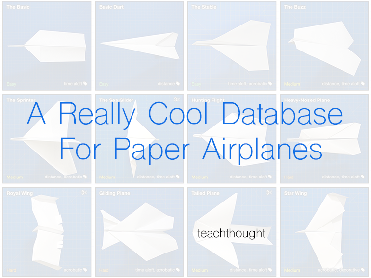 how to make a really cool paper airplanes