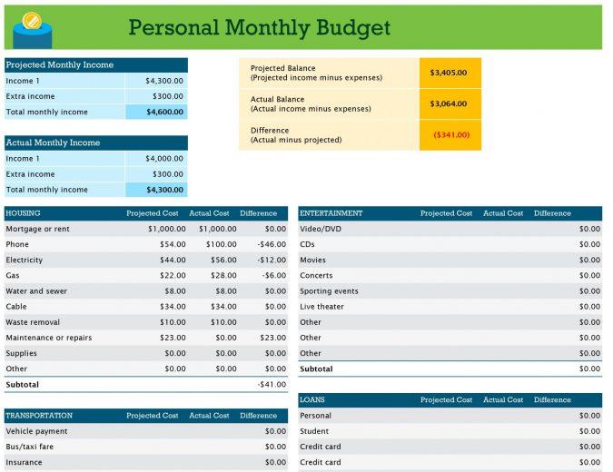 20+ Excel Spreadsheet Templates For Teachers -
