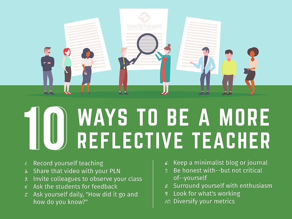 Ways To Be A More Reflective Teacher