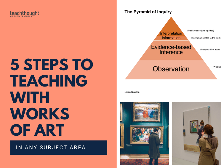 5 steps to teaching with works of art