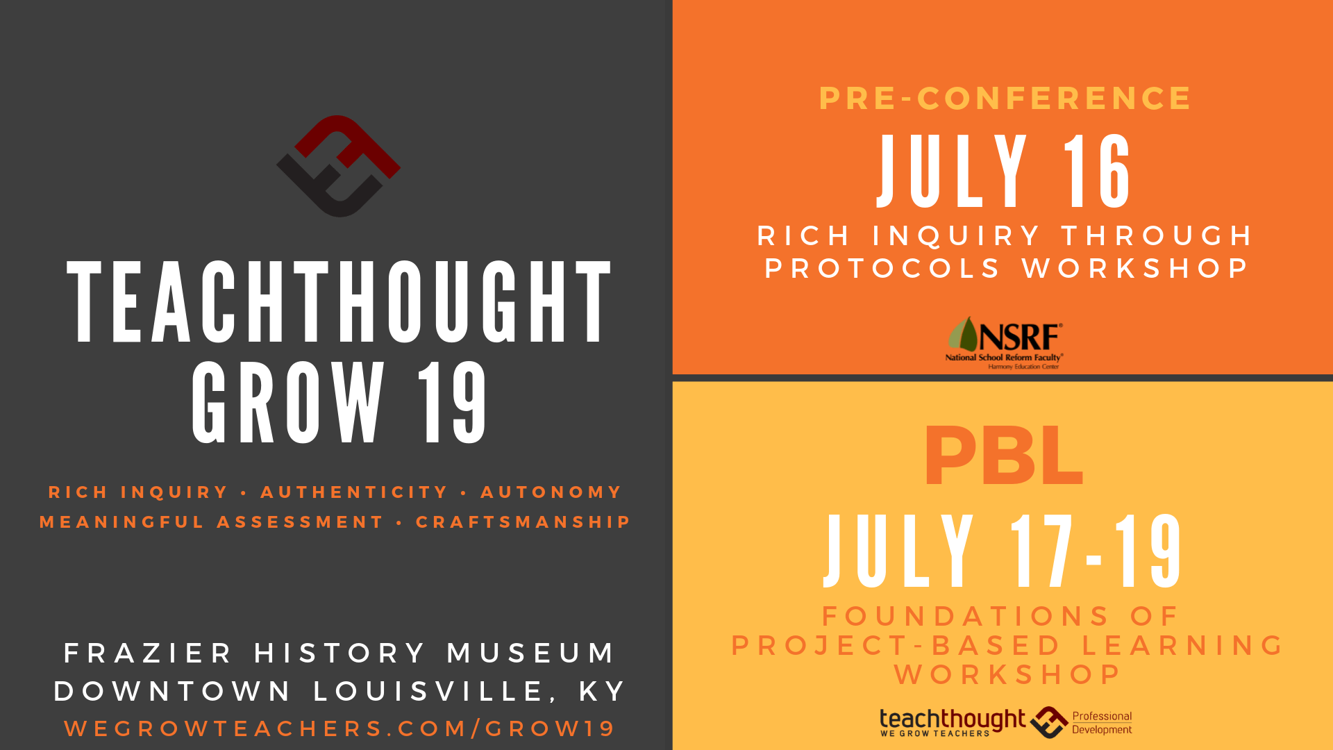 Collaborative For Teaching And Learning Louisville Ky ~ Reasons to attend teachthought grow