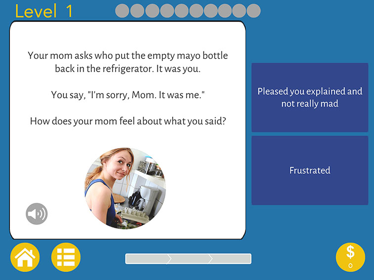 An App To Help Students Practice Social Skills