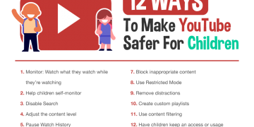 12 Ways To Make YouTube Safer For Children -