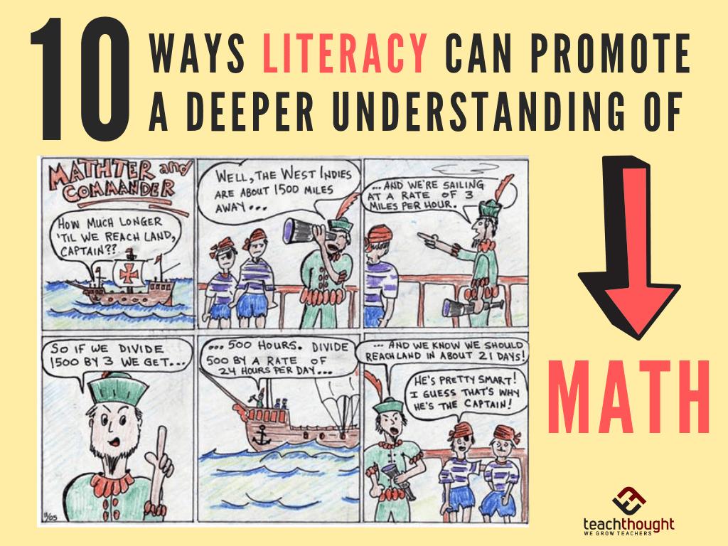 10 Ways Literacy Can Promote A Deeper Understanding Of Math