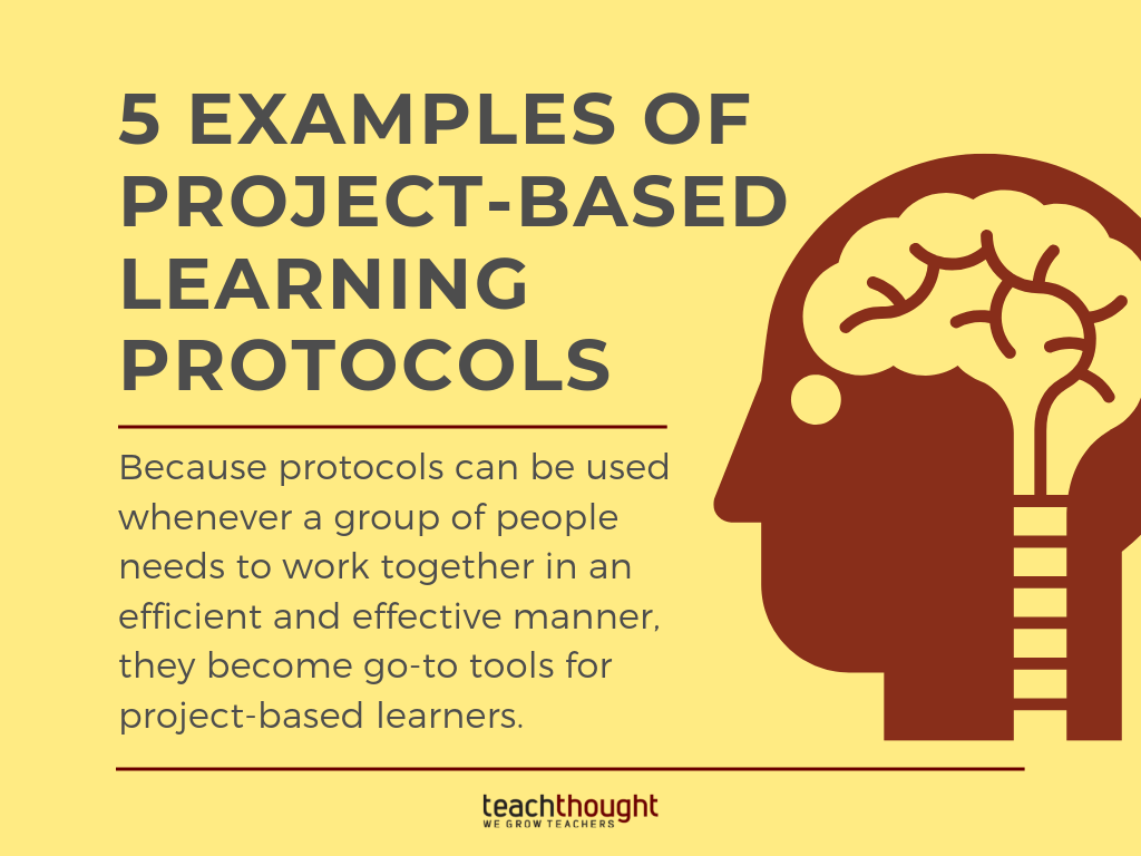 5 Examples Of Project-Based Learning Protocols