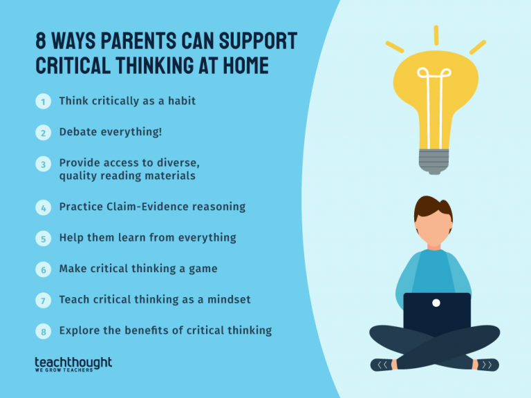 8 Ways Parents Can Support Critical Thinking At Home
