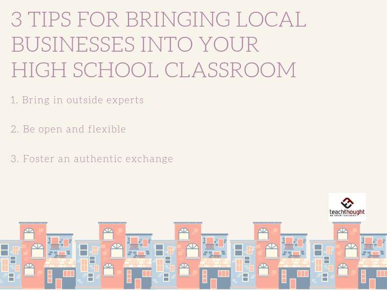 3 Tips For Bringing Local Businesses Into Your High School