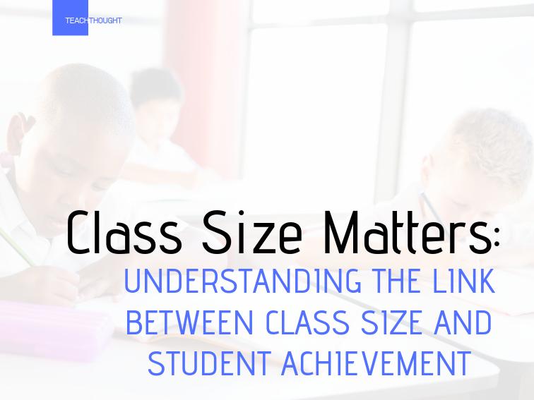 class size matters