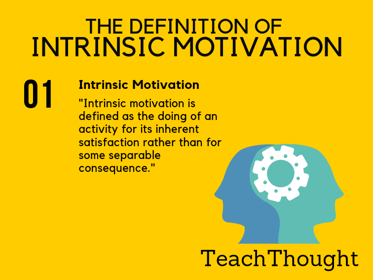 The Definition Of Intrinsic Motivation
