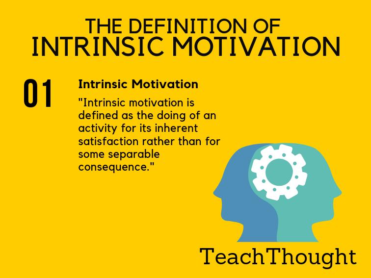 definition of intrinsic motivation