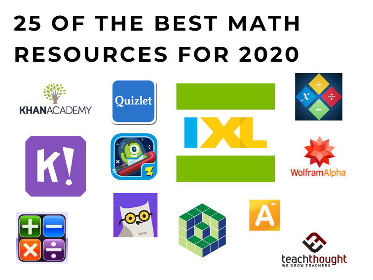 25 Of The Best Math Resources For 2021 [Updated]
