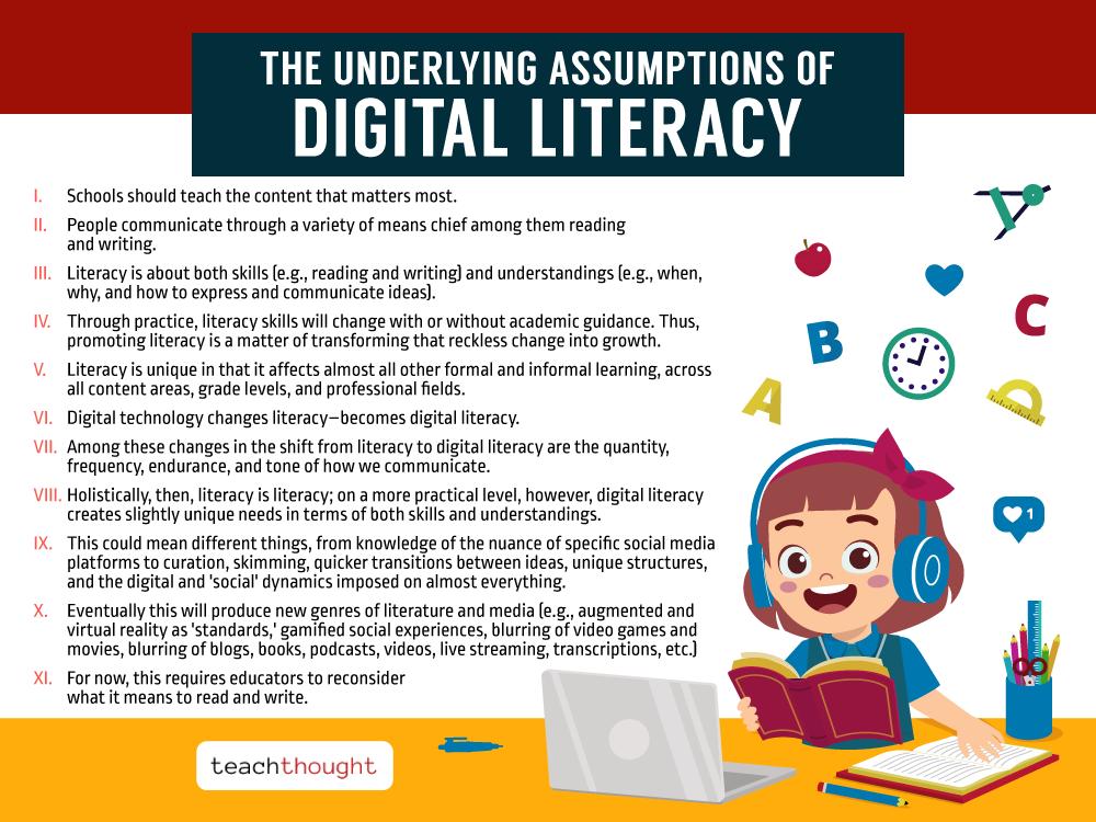 Underlying Assumptions Of Digital Literacy