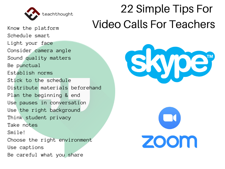 22 Simple Tips For Video Calls For Teachers
