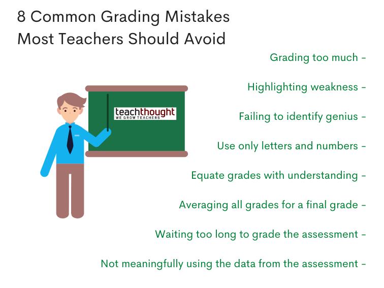 8 common grading mistakes