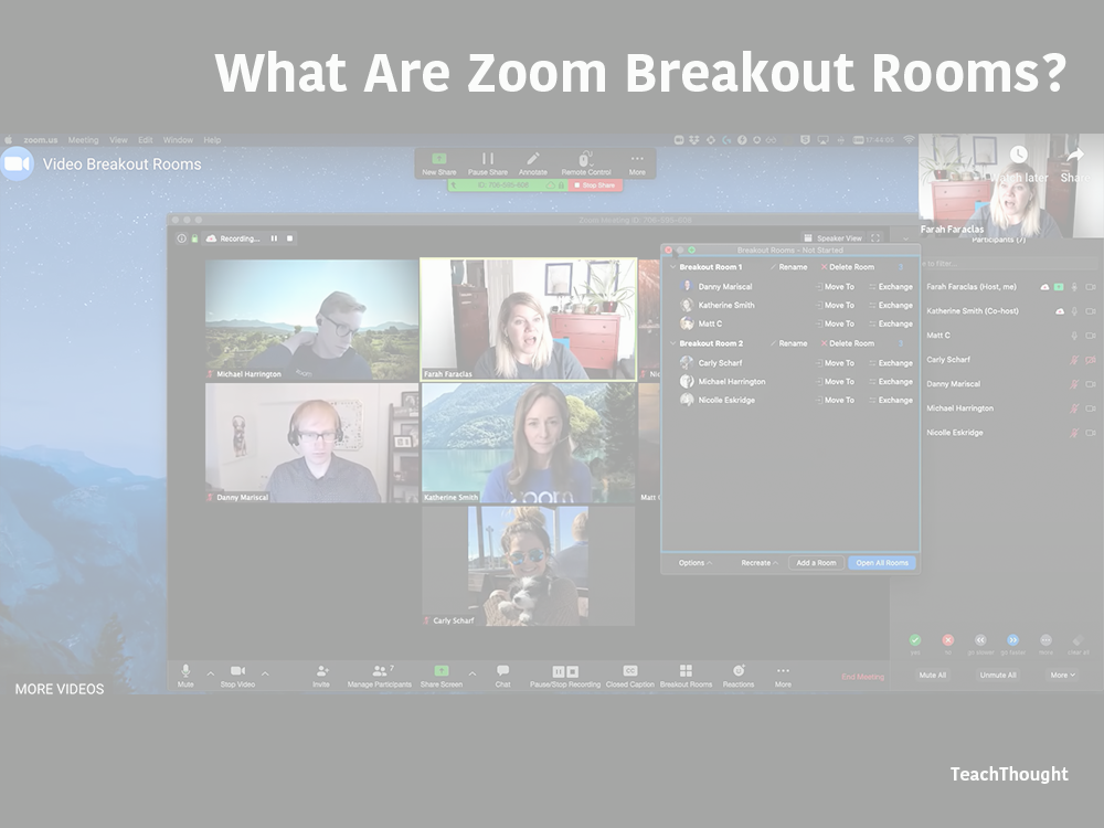 What are Zoom Breakout Rooms? An Explanation For Teachers