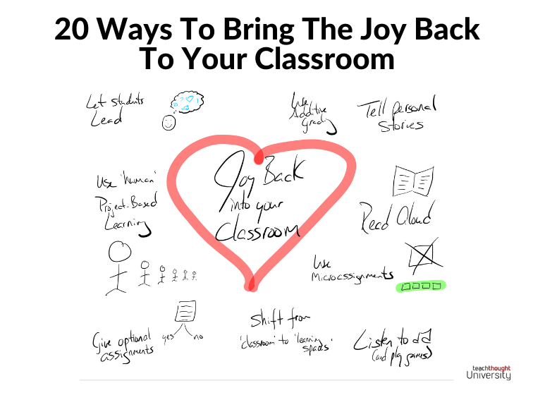 20 Ways To Bring The Joy Back To Your Classroom