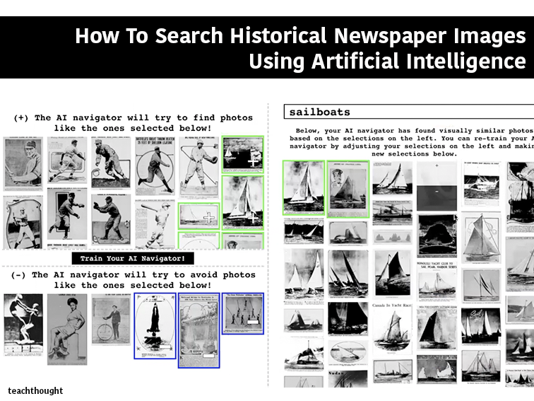 How To Search Historical Newspaper Images Using Artificial Intelligence