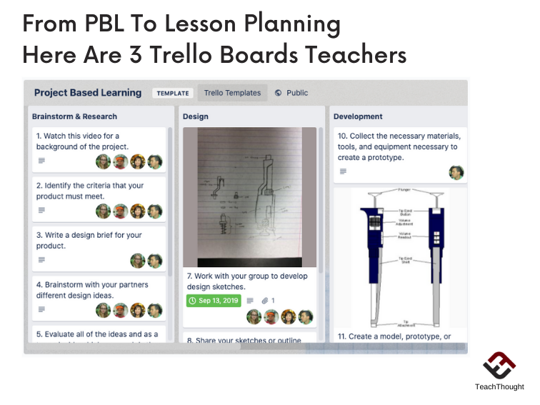 From PBL To Lesson Planning, Here Are 3 Trello Boards Teachers