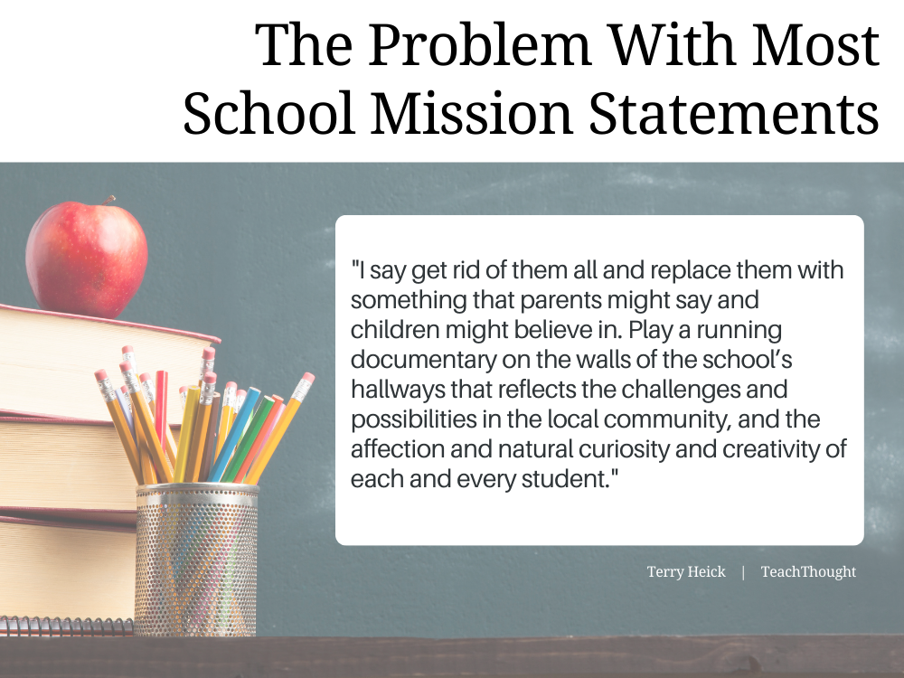 The Problem With School Mission Statements