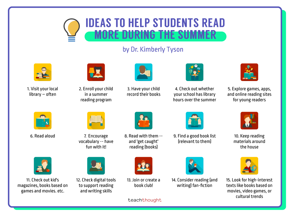 How To Motivated Students To Read More In Summer
