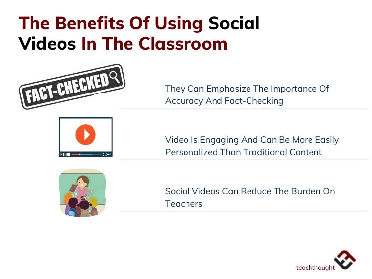 three benefits of using social videos in the classroom
