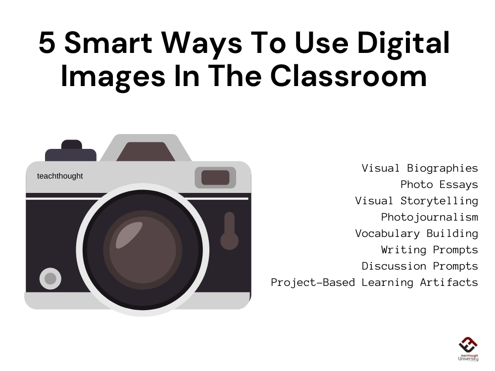 5 Smart Ways To Use Digital Images In The Classroom